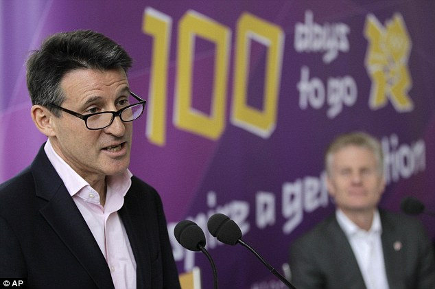 Lord Coe, you need to be in charge of the Olympics.